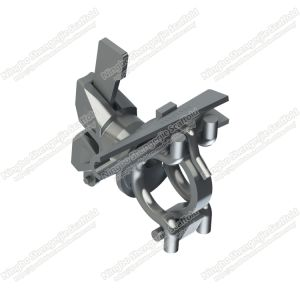 Adaptador de ángulo recto de la abrazadera para andamios Ringlock cuña