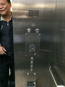 Дверца элеватора телефон промышленных телефон Knzd-15 на чистые номера с двуспальными громкоговорителя
