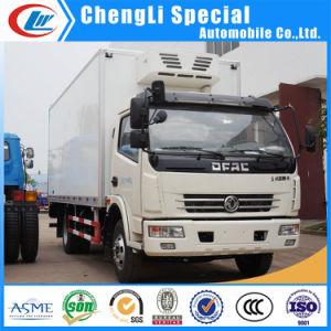 Dongfeng Refrigeración móvil de 4 toneladas camión congelador Van camiones