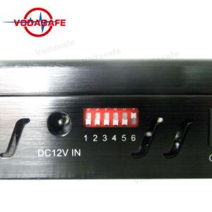 Portable 5 antenas para telefonía móvil, GPS, Lojack, Alarma Sistema Jammer portátil, cinco de la señal de antena para todo el sistema de telefonía celular Jammer, improvisación