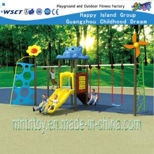 Apparatuur HF-18504 van de Speelplaats van de Binnenplaats van de Schommeling van de Kinderen van de Reeks van de combinatie