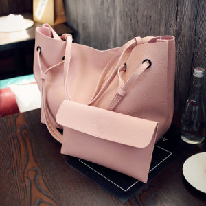 Neuester PU2pcs tote-Beutel-Handtaschen-Frauen-Schulter-Beutel