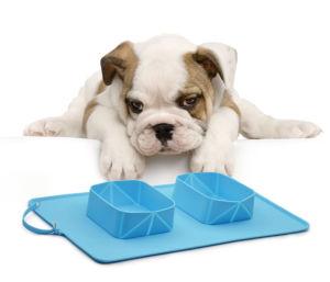 Taças de Pet amovível, Colapsáveis Taça de cães de Silicone
