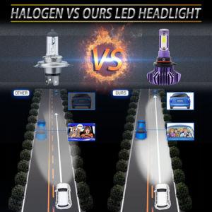 極度の明るいH4 H7の自動車車のユニバーサルヘッドライト360の程度自動LEDのヘッドライトの球根
