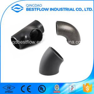 Calendario 40/80/160 ASTM A234 Gr Wpb Acero al carbono negro ensamblado el adaptador de tubería