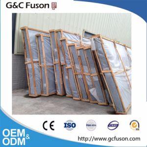 Het houten Glijdende Venster van de Klamboe van het Frame van het Aluminium van het Frame van de Kleur