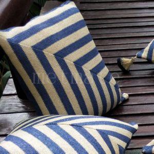 Textil hogar mejoras azul marino cojines exterior impermeable