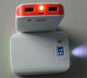 batería externa portátil 6000mAh-12000mAh con indicador LED pantalla (OM-PW033)
