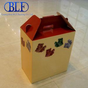 Коробку из гофрированного картона с помощью рукоятки (BLF-PBO048)