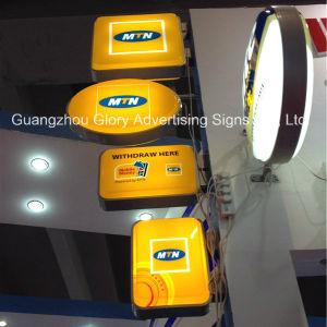 Contenitore chiaro di giro montato /Wall chiaro girante di casella LED