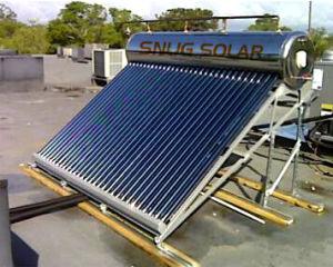 Компактный Non-Pressurized вакуумная трубка нагревателя солнечной энергии на 200 л
