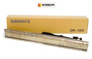 特別な赤外線バーナー(GR1002)の安全および環境保護を乾燥する食糧