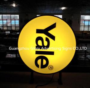 Реклама на открытом воздухе круглый и Squre вакуумного всасывания светодиодный индикатор .