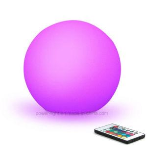 D20cm Colores RGB LED impermeable Ball