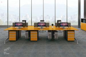Estação de bambu resistente computador do escritório de turismo de mobiliário (H60-0901)