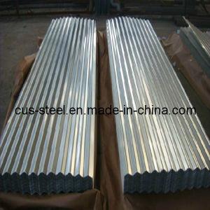 La tuile de toit Corruaged recouvert de zinc/Galvalume de tôle en acier d'onde de l'eau