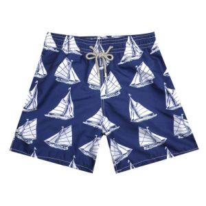 Navigazione sublimata di Printd sugli Shorts di estate per le donne e gli uomini