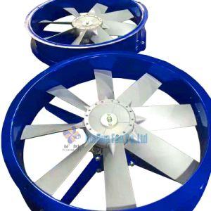 Edelstahl-/Aluminiumschaufel-Wärme, die Strömung-Ventilator widersteht