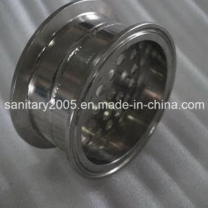 Ss304 Tri-Clamp plaque de filtre en acier inoxydable avec trou de 6 mm