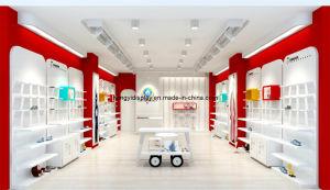 Kundenspezifisches hoher Grad-Schuh-und Kleidung-Bildschirmanzeige-Regal für Kind-System
