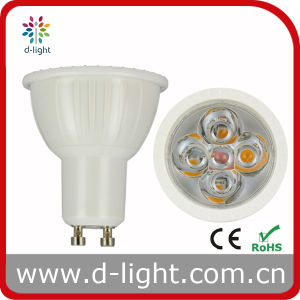 Hohes Lumen GU10 300lm 4.5W COB LED Light Bulb