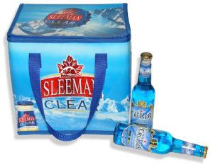La bière à isolation thermique du refroidisseur d'sac de glace Vin de glace du refroidisseur d'Isolés