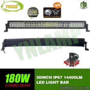 30  180W Gebogen 5D Optische LEIDENE CREE Lichte Staaf 4X4