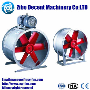 Ventilateur axial/mine/l'exploitation minière du ventilateur du système de ventilation