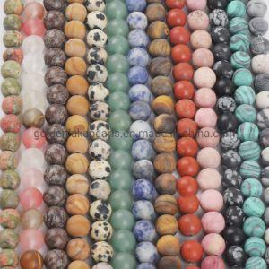 La pierre naturelle de l'Améthyste Matte Oeil de Tigre Agate Bracelet perles en vrac pour bricolage Necklace