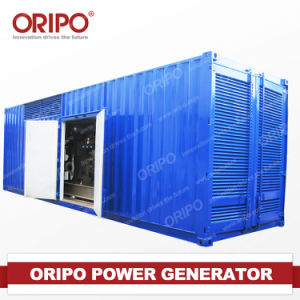 1000kVA/800kw Containerized Generator Set Diesel Engine