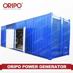 1000kVA/800kw Containerized Generator Set Dieselmotor