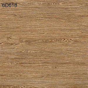 Hot Tuile céramique vente planche en bois rustique, panneau de bois en porcelaine