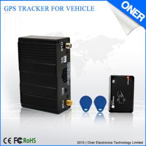 RFID Gebaseerd GPS van de Opkomst Volgend Systeem en de Opsporing van identiteitskaart van de Vingerafdruk
