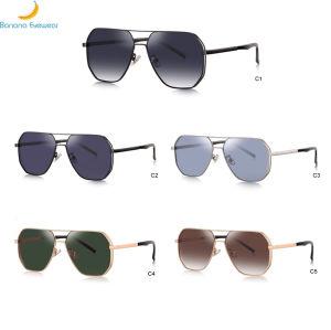 Última Moda óculos de sol estilo 2020 Nova Alta Qualidade homens elegante Metal óculos de sol em stock