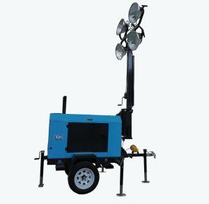 6kw 50Hz/60Hz Tour d'éclairage avec groupe électrogène diesel de qualité supérieure