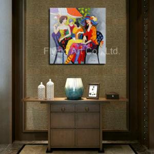 ホーム装飾のための図が付いているキャンバスの油絵