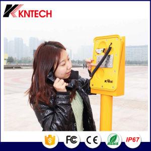 Цифровая система селекторной связи Knsp сети IP-11 с телефонной трубкой защита от воздействий молнии