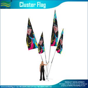 4pcs Cluster Polyester drapeau personnalisé (B-NF22M01103)