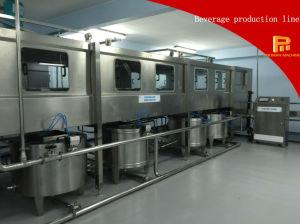 Máquina de enchimento líquida da água do frasco 3L/5L/10L linear automático da cidade de Zhangjiagang