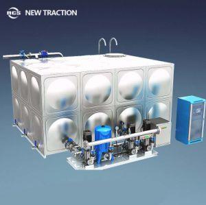 Sin la presión negativa de tipo caja de conversión de frecuencia constante la presión del sistema de suministro de agua secundario con alta calidad
