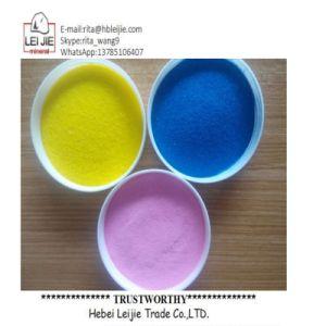 Couleur Sable naturelle de sable coloré pour peintures et revêtements