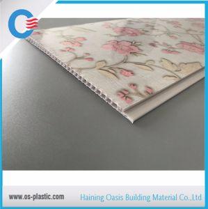 Motif de fleurs panneau en PVC avec marquage à chaud pour le plafond et mur