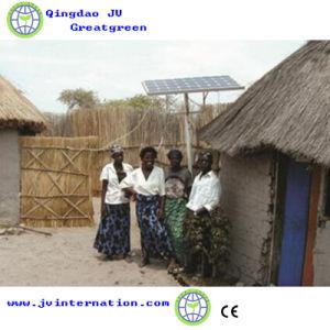 Utilisation de la famille hors système de grille générateur solaire