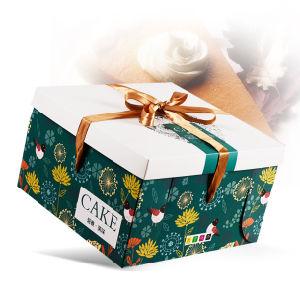 Caja de papel de embalaje de cartón personalizadas Embalaje de regalo Box Cake Box