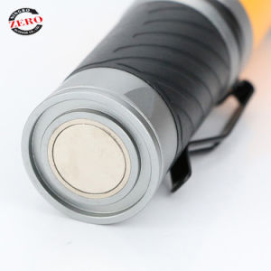 Luz LED de trabajo punto de luz LED rojo Cabezal giratorio con llave de luz Penclip