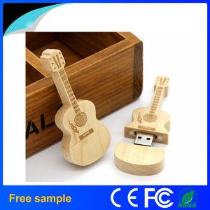 卸し売り8GB木の電気Gitarの形USB2.0のフラッシュ駆動機構