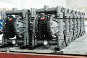 Rd 2 pulgadas de acero inoxidable popular en todo el mundo de la bomba de aceite neumático