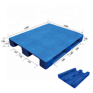 Switches empilháveis de alta qualidade de serviço pesado e paletes de plástico barato montável em rack