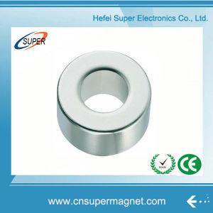 N52 Промышленная мощность мотора радиального неодимовым кольцевым магнитом с отверстием