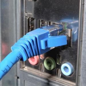 UTP Cat5e 24AWG de cobre trenzado Ethernet RJ45 Cable Patch